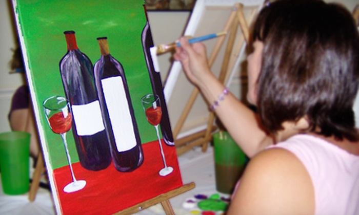 Mollysmud - Downtown Southern Pines: $25 for Painting Class for Two at MollysMud in Southern Pines (Up to $50 Value)