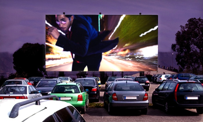 Saco Drive-In - Saco: Movie with Popcorn and Drinks for Two or Four at Saco Drive-In (Up to 51% Off)