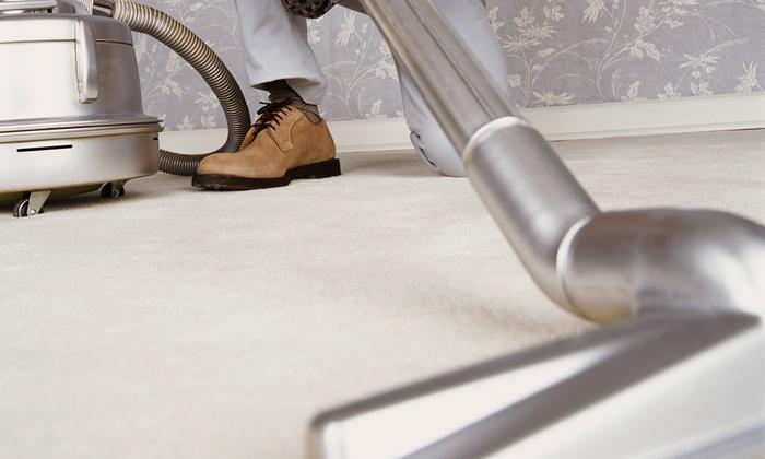 1st Class Carpet Care - Denver: Three Rooms of Steam Carpet Cleaning from 1st Class Carpet Care (55% Off)