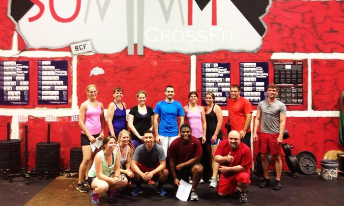 Summit CrossFit - Asheville: Four-Week Intro Course for One or Two atSummit CrossFit(Up to 62% Off)