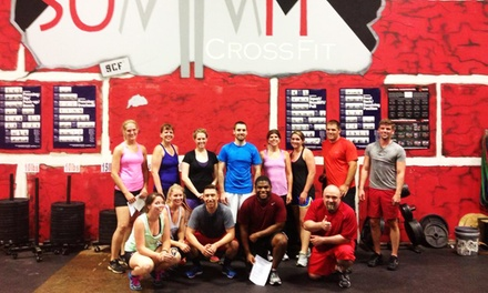 Four-Week Intro Course for One or Two at Summit CrossFit (Up to 63% Off)