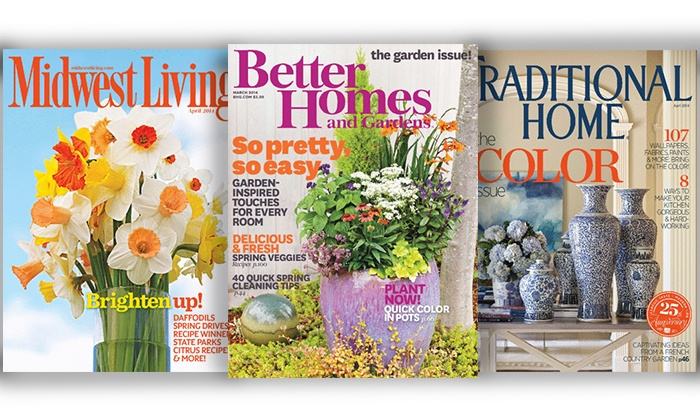 BlueDolphin-Magazines.com: 2-Year Subscription to Home-Themed Magazines or a $25 Toward Any Blue Dolphin Magazine