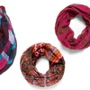 D&Y Lightweight Infinity Scarves