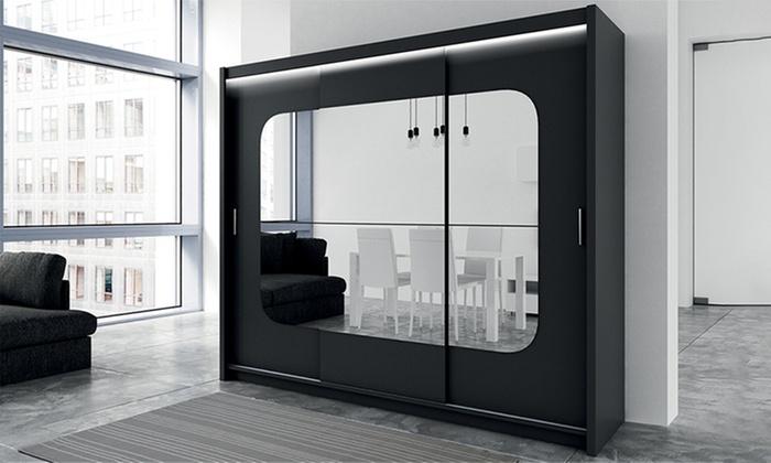 selsey gro er kleiderschrank groupon. Black Bedroom Furniture Sets. Home Design Ideas