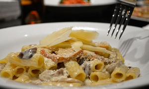 Farfalle Fine Italian Restaurant: Italian Dinner for Two or Four with House Wine at Farfalle Fine Italian Restaurant (Up to 42% Off)