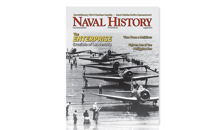 "U.S. Naval Institute: $24 for One-Year Subscription to US Naval Institute's ""Naval History"" Magazine  ($35 Value)"