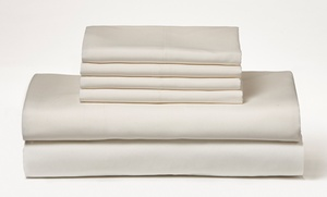 Wexley Home Wrinkle-Free Microfiber Sheet Set (6-Piece)