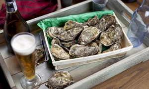 Shuckeroo! Beer and Oyster Festival: General or VIP Admission to the Shuckeroo! Beer and Oyster Festival (Up to 30% Off). Two Sessions Available.