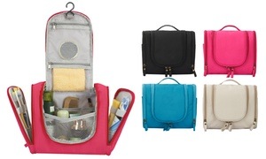 Hanging Travel Makeup Toiletry Bag and Waterproof Organizer