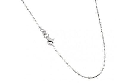 Italian Sterling Silver Spark Chain