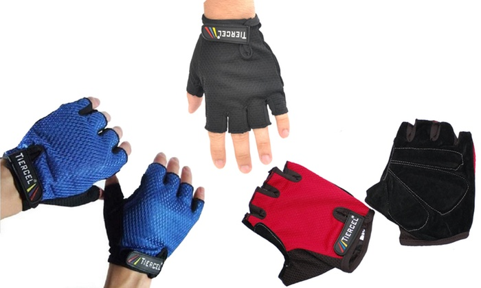 Fingerless Cycling Gloves: Fingerless Cycling Gloves