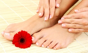 Studio Cesar Inc.: One or Three Manicures and Imperial Pedicures at Studio Cesar Inc. (Up to 57% Off)