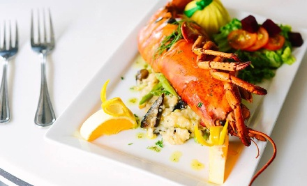 Seafood and Cocktails at Chive Sea Bar & Lounge (Up to Half Off). Three Options Available.