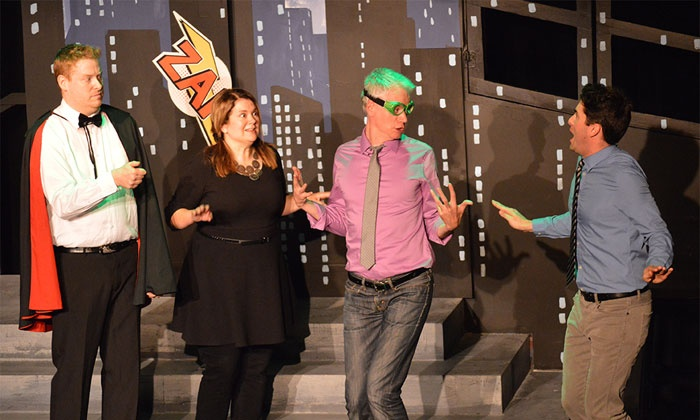 Vancouver TheatreSports League - Fairview: Improv-Comedy Show for Two at Vancouver TheatreSports League on May 1–July 31 (Up to 36% Off)