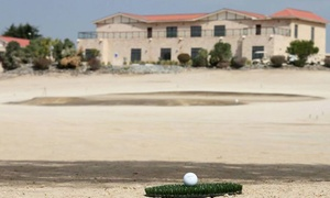 Al Ghazal Golf Club: 9 or 18 Holes of Golf with Buggy and Mat Rental for One or Two at Al Ghazal Golf Club