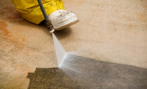 New York Power Wash Inc.: Standard or Premium Commercial Sidewalk Power Clean with Gum Removal from New York Power Wash Inc. (50% Off)