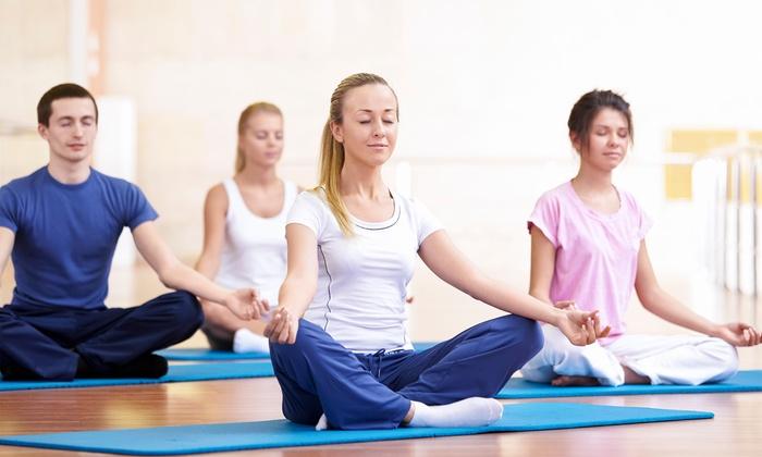 Repose Yoga Studio - Newburyport: One Month of Unlimited Yoga Classes or 10 Yoga Classes at Repose Yoga Studio (Up to 60% Off)