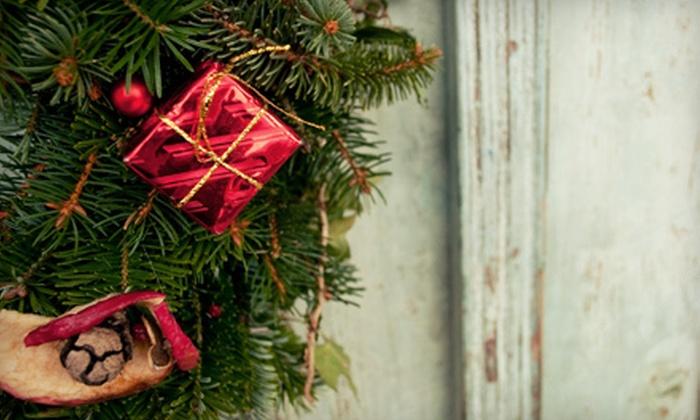 Alpine Tree & Wreath - Greenwood: $20 for $40 Worth of Holiday Greenery at Alpine Tree & Wreath