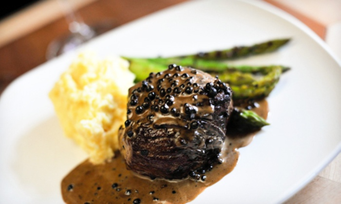Our House - Downtown Core: Upscale New American Cuisine at Our House (36% Off)