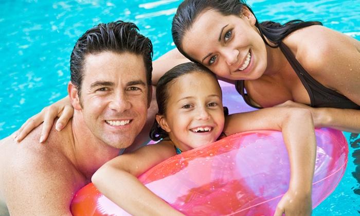 El Cerrito Swim Center - El Cerrito: Single-Day or Full-Season Family Pool Passes to El Cerrito Swim Center (Up to 48% Off)