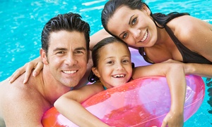 El Cerrito Swim Center: Single-Day or Full-Season Family Pool Passes to El Cerrito Swim Center (Up to 48% Off)