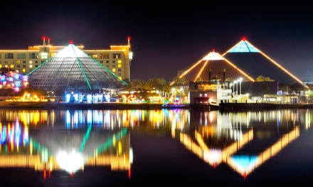 Admission to Festival of Lights and Discovery Pyramid Featuring the Speed Exhibit at Moody Gardens(Up to 47% Off)