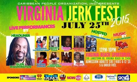Up to 53% Off Virginia Jerk Fest Tickets  at Virginia Jerk Fest