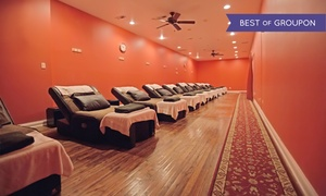 VIP Feet Feel Spa: One 40- or 60-Minute Reflexology Treatments or Three 60-Minute Treatments at VIP Feet Feel Spa (Up to 78% Off)