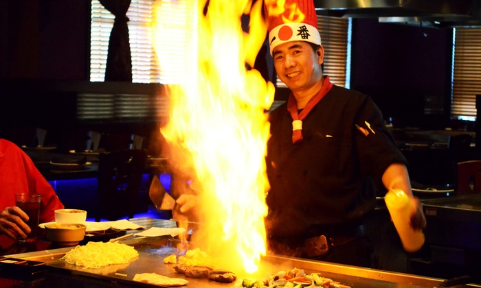 A-Aki - Florida Mall: $19 for $30 Worth of Sushi and Hibachi Dinner for Two or More at A-Aki