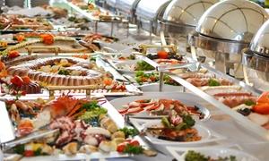 El Puma: Menú buffet para dos personas con 2 bebidas desde 29,90 € en El Puma