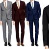 Braveman Men's Slim-Fit Suits (2-Piece)