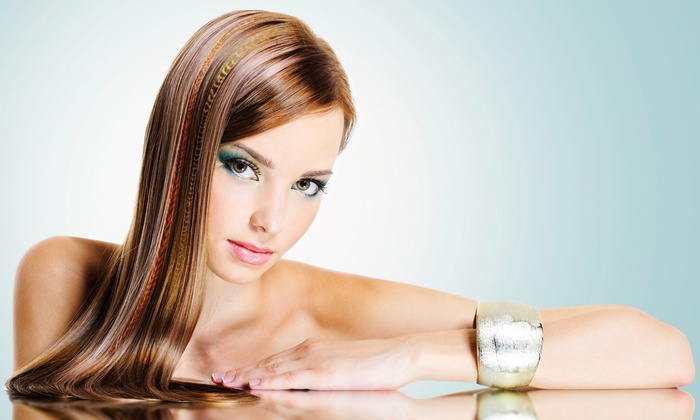 Suleivy's Hair Salon - Northeast San Antonio: Haircut and Style with Deep-Conditioning Treatment, Color, or Highlights at Suleivy's hair salon (Up to 57% Off)
