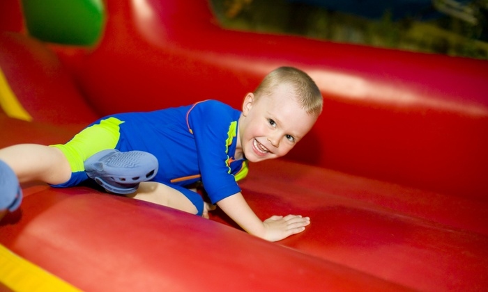 Jump 4 Fun - Saint Charles: Up to 57% Off Bounce Sessions or Jump Party at JUMP4FUN