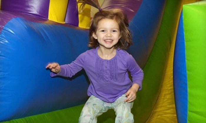 Jumping Jax - Blackbob Marketplace: 5 or 10 Open-Play Sessions or Two-Hour Party for Up to 12 Kids at Jumping Jax (Up to 56% Off)
