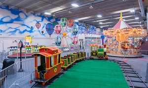 Lollipop Park Children's Indoor Amusement Park: One Day of Unlimited Indoor Kids' Amusement Rides with Optional LED Wand at Lollipop Park (Up to 48% Off)