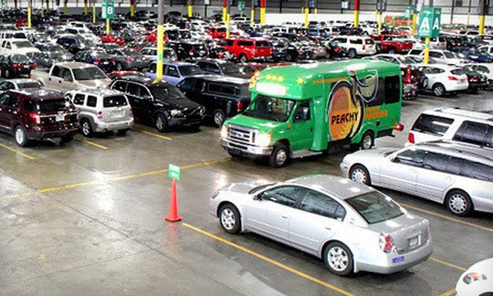 Peachy Airport Parking - Peachy Airport Parking: 2, 4, 6, or 10 Consecutive Days of Indoor Parking at Peachy Airport Parking (Up to 54% Off)
