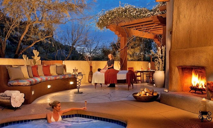 Boulders Resort & Spa - Scottsdale: Desert Zen Signature Massage, Prescriptive Signature Facial, or Both at Boulders Resort & Spa (Up to 33% Off)