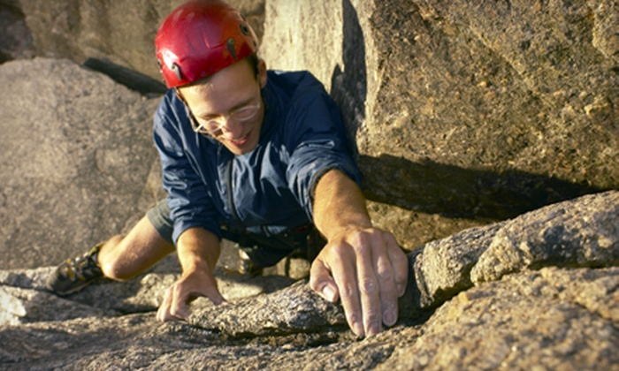 Live Adventure - Southwest Travis: Six-Hour Guided Rock-Climbing Tour for Two or Four from Live Adventure (Up to 60% Off)