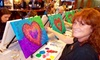 Corks and Canvas - Columbia: $17.50 for a Three-Hour Painting Class from Corks and Canvas ($35 Value)