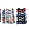 Fila Men's Shock Dry No-Show Athletic Socks (24 Pairs)