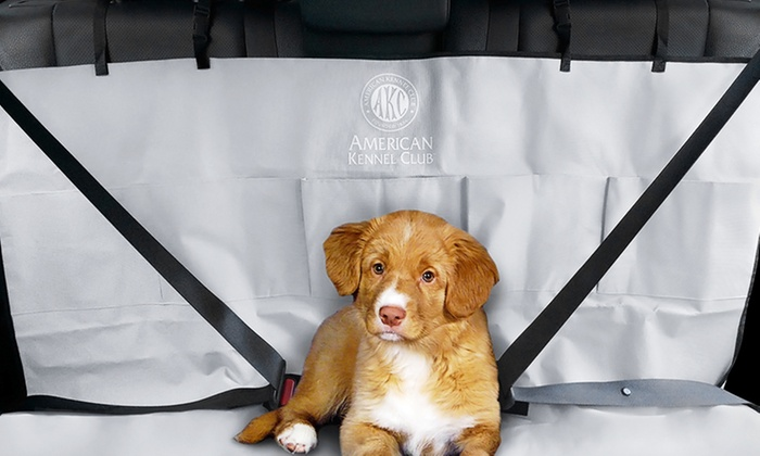 Surprising Akc 5 Pocket Water Resistant Car Seat Pet Cover Alphanode Cool Chair Designs And Ideas Alphanodeonline