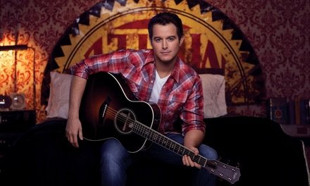 Easton Corbin on Sunday, September 6, at 7 p.m.