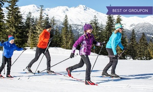 Ski Callaghan: CC$26 for Nordic-Skiing Passes for Two Adults at Ski Callaghan (CC$50 Value)
