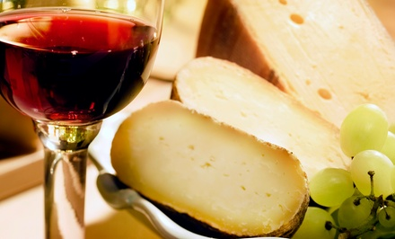 Wine-and-Cheese Tasting for Two or Four with Souvenir Glasses at Oliva Vineyards (Up to 55% Off)