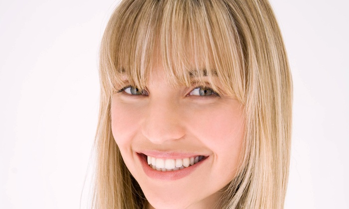 Studio E - Bear Valley: Haircut and Deep Conditioning Treatment with Options for Partial or Full Highlights at Studio E (Up to 61% Off)