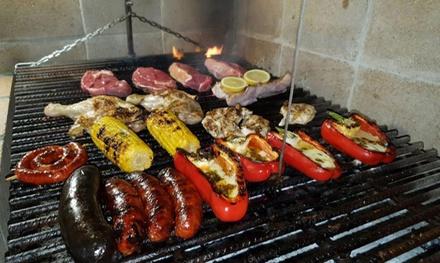 Parrillada para 2 o 4 con entrantes, postres y bebidas en Restaurante Grill Los Gemelos(hasta 62% de descuento)