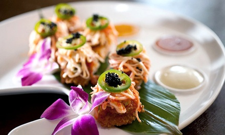 Asian Fare for Lunch or Dinner at Bambu (Up to 45% Off)