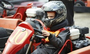 Karting 2000: Fifty or Eighty Laps for One or a Group of Ten People at Karting 2000