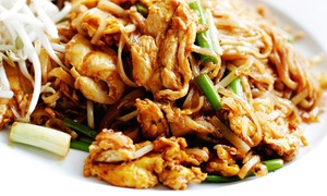 Bangkok Dee Thai Cuisine: Thai Cuisine at Bangkok Dee Thai Cuisine (50% Off). Two Options Available.