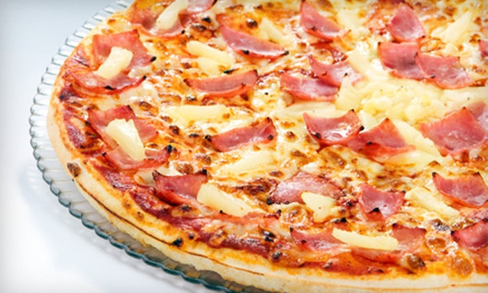 All American Pizza - Edmond: $8 for Two Large Pizzas with Toppings at All American Pizza ($16 Value)